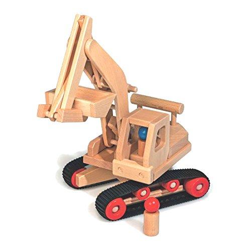 Fagus 10.71Holz Spielzeug Spielfahrzeug–Fahrzeuge von Holz, Schwarz, Holz, Kind, 170mm, 460mm,...