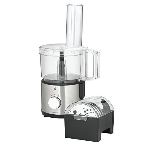 WMF Kult X Edition Küchenmaschine, mit 5 Zubehör-Scheiben, Knetmesser, Stopfen, Edelstahl-Messer, Behälter...