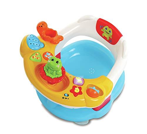 Vtech Super Kindersitz 2-in-1 Baby erstes Alter, Badespielzeug, 80-515405, Mehrfarbig – Version FR