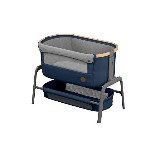 Maxi-Cosi Iora-Beistellbett mit weicher Matratze, Reisebett einfach zusammenfaltbar und höhenverstellbar,...