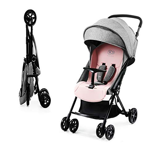 Kinderkraft Kinderwagen LITE UP, Liegebuggy, Sportwagen, Drehbare Vorderräder, Verstellbarer Griff,...