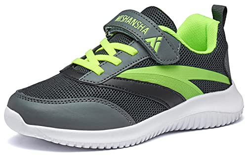 Mishansha Straßenlaufschuhe Mädchen Atmungsaktiv Leicht Turnschuhe Jungen Sneakers Kinder Outdoor...