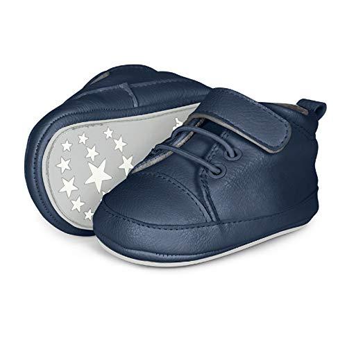Sterntaler Jungen Baby-Schuh Sneaker, Blau (Marine 2301623), 19/20 EU