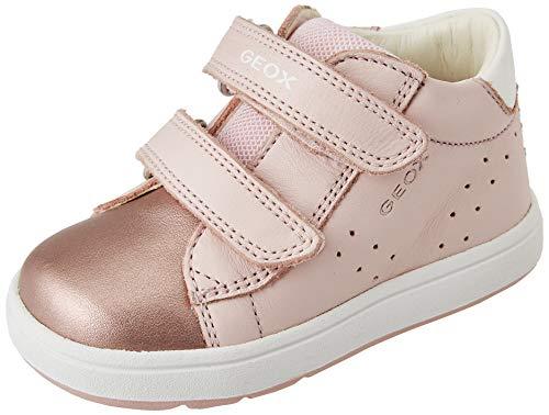 Geox Baby-Mädchen B BIGLIA Girl C First Walker Shoe, LT Rose/White, 25 EU