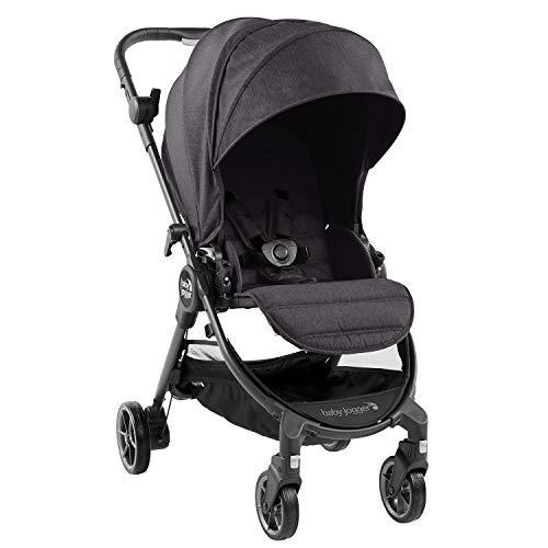 Baby Jogger City Tour LUX Kinderwagen | kompakt, leicht, zusammenklappbar und tragbar | Granite (dunkelgrau)