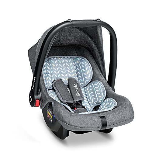 Lionelo Noa Plus Auto Kindersitz Babyschale ab Geburt bis 13 kg Fußabdeckung Sonnendach leichte Konstruktion...