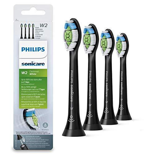 Philips Original Aufsteckbürste Optimal White HX6064/11, Entfernt bis zu 2x mehr Verfärbungen, Rfid-Chip,...
