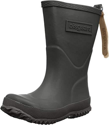 Bisgaard Unisex-Kinder Rubber Boot Basic Gummistiefel, Schwarz (50 black), 40 EU