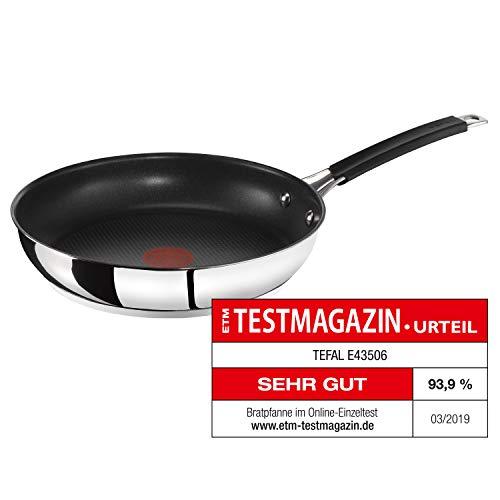 Tefal E43506 Jamie Oliver Pfanne | Bratpfanne | 28cm | Induktion | integrierter Temperaturanzeiger |...