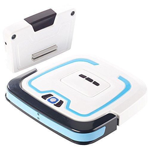 Sichler Haushaltsgeräte Mop-Wischroboter: Bodenwisch-Roboter, intelligente Navigation, Nass- &...