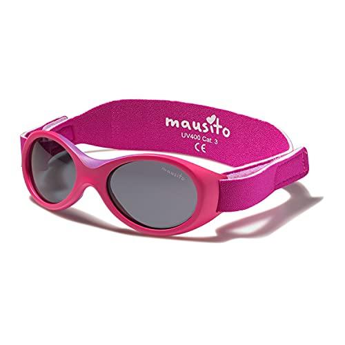 Mausito® BABY Sonnenbrille 0-1,5 Jahre Mädchen I biegsame Sonnenbrille für Kleinkinder I 100% AUGEN UV...
