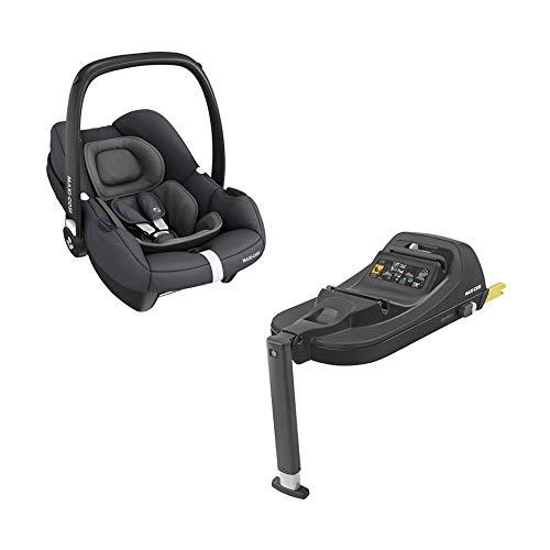 Maxi-Cosi Tinca i-Size Babyschale + passende ISOFIX Station, sehr leichter Gruppe 0+ Autositz (nur 3,2kg),...