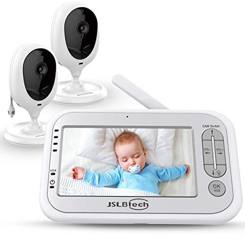 JSLBtech Video Babyphone mit kamera und 4,3'...