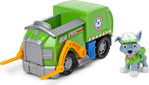 PAW Patrol Recycling-Fahrzeug mit Rocky-Figur (Basic Vehicle)