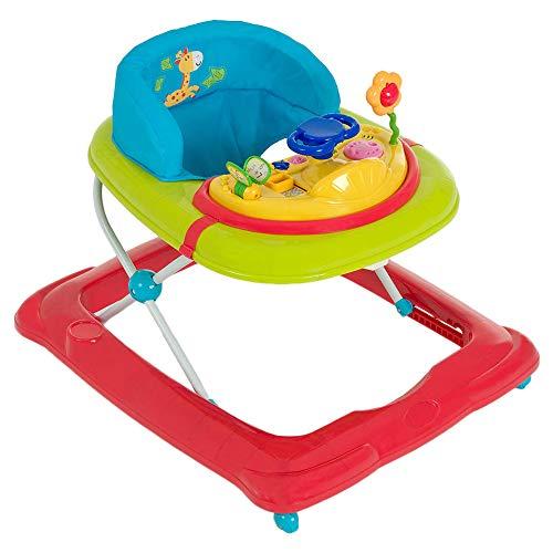 Hauck Lauflernhilfe Player - Walker ab 6 Monaten, Gehfrei mit Spielcenter und Rollen, höhenverstellbar, bunt...