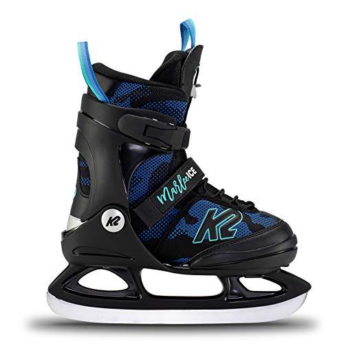 K2 Skates Mädchen Schlittschuhe Marlee Ice — camo - Blue — EU: 32 - 37 (UK: 13 - 4 / US: 1 - 5) —...
