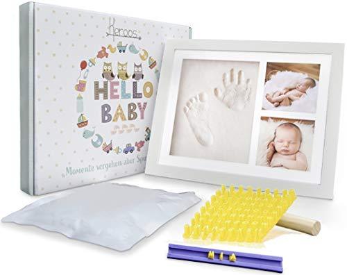 Hand und Fußabdruck Set für Neugeborene