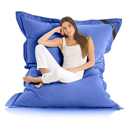 Original LAZY BAG Indoor & Outdoor Sitzsack XXL 400L Riesensitzsack Sitzkissen Sessel für Kinder & Erwachsene...