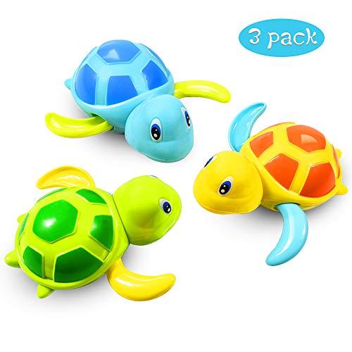 Baby Badespielzeug Baby Bade Bad Schwimmen Badewanne Pool Spielzeug Uhrwerk Schildkröte Schwimmbad Spielzeug...