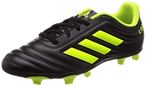adidas Copa 19.4 FG, Baby Jungen Fußballschuhe, Schwarz (Core Black/Solar Yellow), 36 EU (3.5 UK)