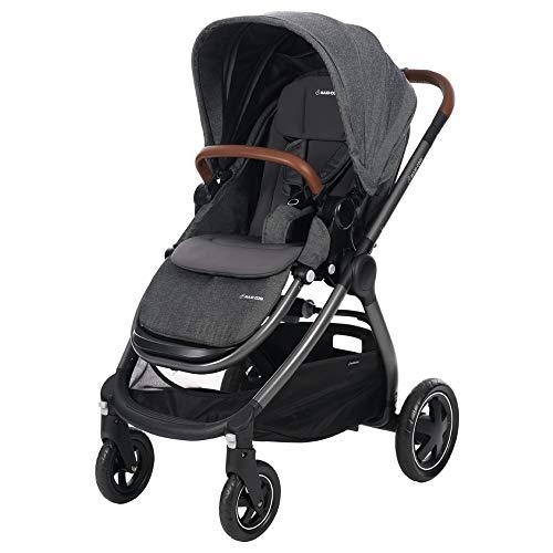 Maxi Cosi Adorra komfortabler Kombi Kinderwagen für ihr Kind, mit riesigem Einkaufskorb, einhändigem...