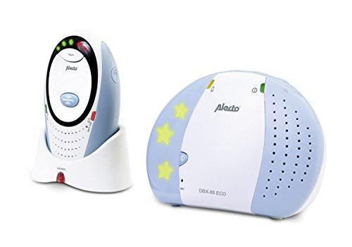 Alecto DBX-85 Digitale Eco DECT Babyphone (100% störungsfrei), hohe Reichweite von bis zu 300 Meter,...