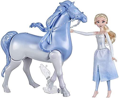 Hasbro E6716 Disneys Die Eiskönigin 2 Wasserzauber und Landspaß ELSA & Nokk, Spielzeug für Kinder, Puppen...