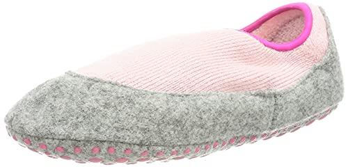 FALKE Unisex Kinder Cosy Slipper K HP Hausschuh-Socken, Rosa (Almond Blossom 8441), 25-26