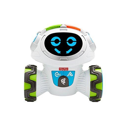 Fisher-Price FKC35 Lern-Roboter Movi interaktiver Lernspielzeug Roboter deutschsprachig, ab 3 Jahren