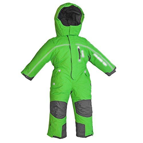 Outburst Schneeoverall Overall Kinder Skianzug Winddicht wasserfest Farb- und Größenwahl (104, grün)
