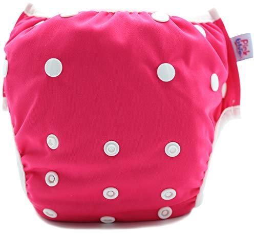 PINK & BLUE Schwimmwindel Schwimmhose Baby und wiederverwendbar Badehose für Jungen und Mädchen (7-20,5 kg)...