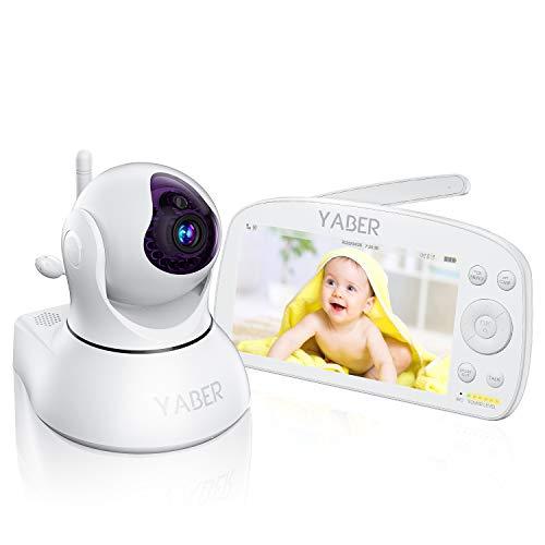 Babyphone mit Kamera, YABER 5,5 Zoll Baby...