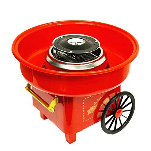 Zuckerwattemaschine für Zuhause Zuckerwattegerät Zuckerwatte Maschine Retro Cotton Candy Machine Zuckerwatte...