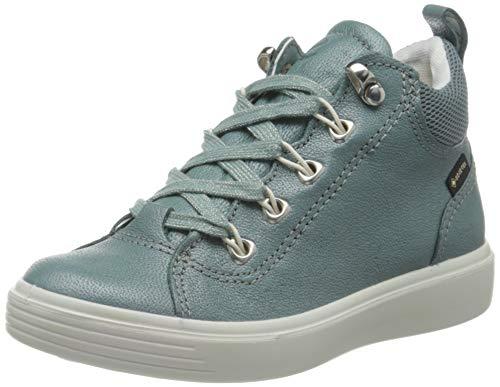 Ecco Mädchen S7TEEN Hohe Sneaker, Grün (Trellis 2390), 29 EU