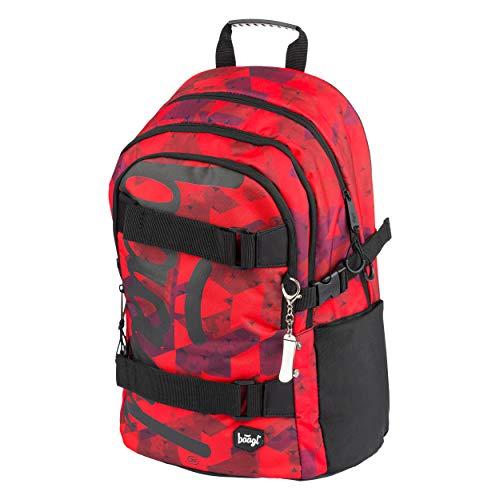 Schulrucksack für Jungen Mädchen Teenager - Skateboard Rucksack - Kinderrucksack mit Laptopfach und...