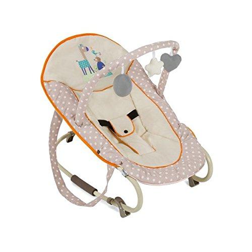 Hauck / Babywippe Bungee Deluxe / Schaukelfunktion / Spielbogen / verstellbarer Rückenlehne, Sicherheitsgurt...