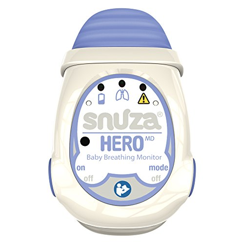 Snuza Hero MD tragbarer Baby-Atemmonitor, medizinisch geprüft