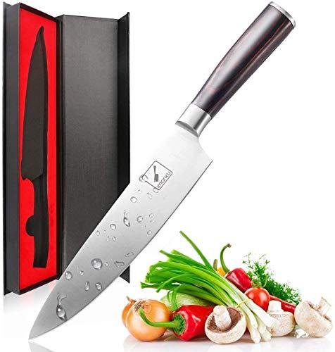 imarku Professionelle Küchenmesser Chefmesser Allzweckmesser Kochmesser aus Hochwertigem Carbon Edelstahl mit...