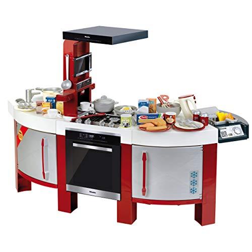Theo Klein 7158 Miele Küche Star I Beidseitig bespielbare Kinder-Spielküche mit umfangreichem Zubehör und...