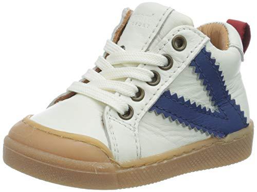 Bisgaard Unisex Baby Sylvester Sneaker, Weiß (White 1104), 26 EU