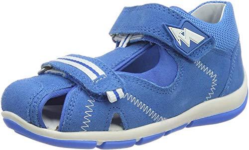 Superfit Baby-Jungen Freddy Sandalen, Blau (Blau 81), 21 EU