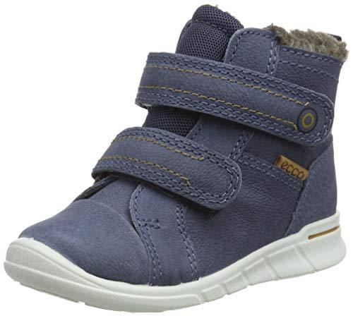 ECCO Baby-Jungen Kavalan First Walker Shoe, Blau (Ombre), 22 EU