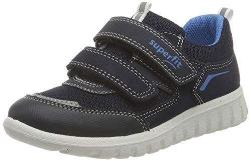 Superfit SPORT7 Mini Gore-TexSneaker Lauflernschuh, BLAU/BLAU, 24 EU