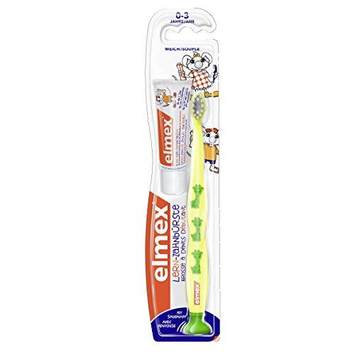 elmex: Lern-Zahnbürste, 0-3 Jahre, 6er Pack