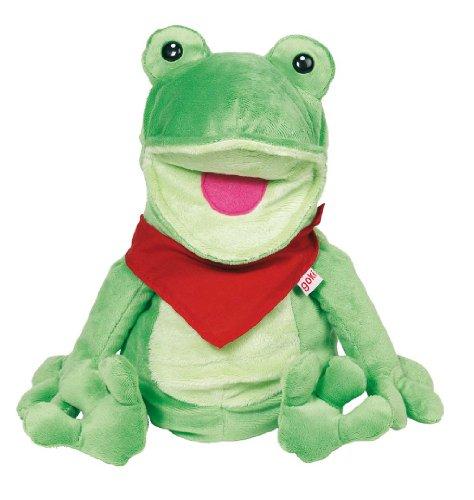 goki 108355 Handpuppe Frosch
