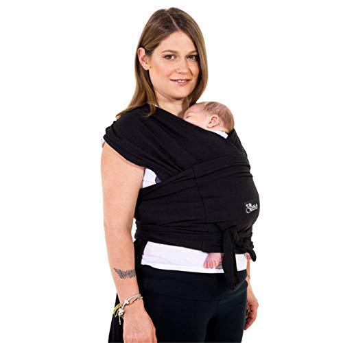 Baby Tragetuch-Leichtes Anziehen (Easy-On) - Unisex - Babytrage Neugeborene Multi-Use Bis 10kg - Babytragetuch...