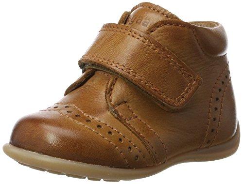 Bisgaard Unisex-Kinder Krabbelschuhe Pantoffeln, Braun (66 Cognac), 18 EU