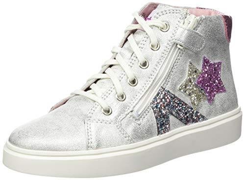 Richter Kinderschuhe Mädchen Flora Star Hohe Sneaker, Silber (Silver/Candy 0201), 30 EU