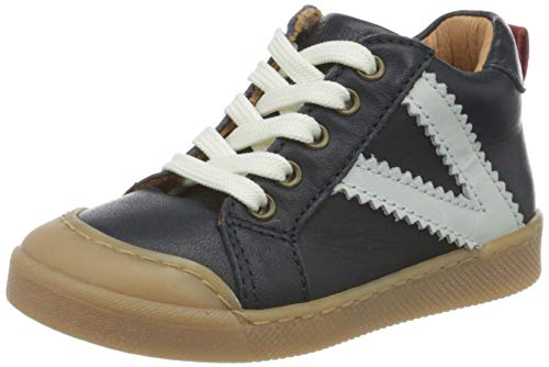 Bisgaard Unisex Kinder Sylvester Sneaker, Blau (Navy 1402), 23 EU