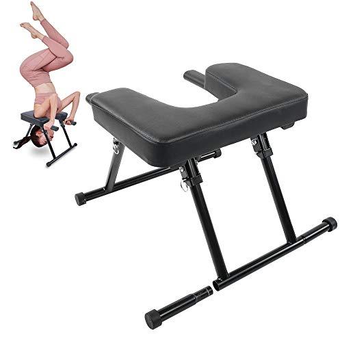 Yoga Kopfstand Hocker, Yoga Stuhl, Yoga Hocker Yoga Handstand Bench Kopfstandhocker für Yoga Praxis,...